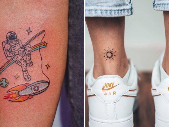The Best Space Tattoo Ideas 4