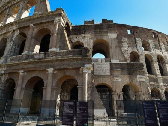 Guards caught tourist carving initials into Rome's Colosseum