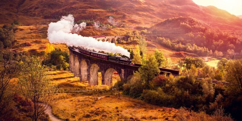 Photos: Riding the 'Harry Potter' train through the Scottish Highlands
