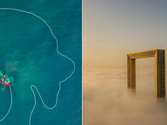 Award-winning aerial photos taken around the world