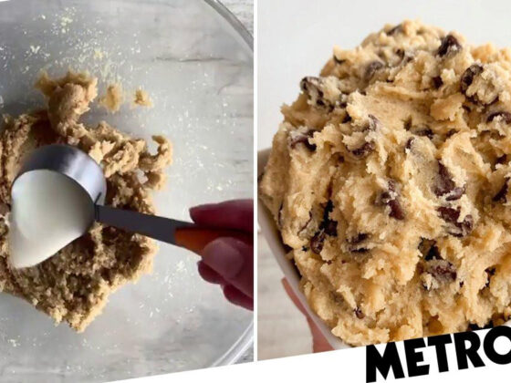 Baker reveals no-bake cookie dough recipe that takes only 10 minutes