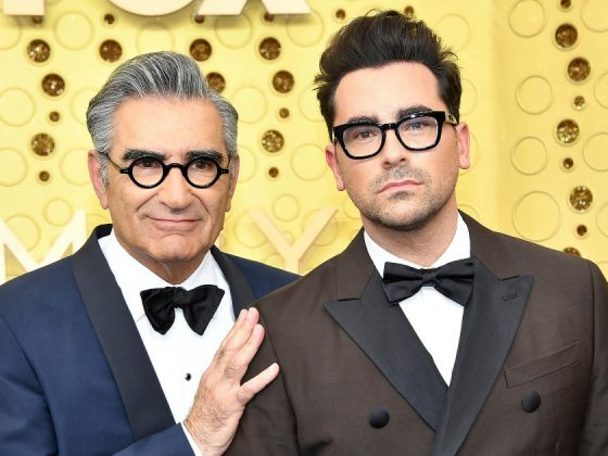 Dan Levy Reacts to 'Schitt's Creek' Fan's Claim That Dad Eugene Died