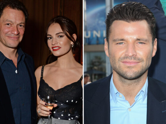Mark Wright shares support for 'sweetest' Lily James as she avoids Dominic West kissing scandal in new interview