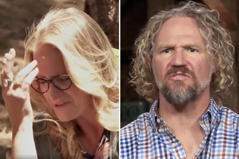 Sister Wives' Christine Brown cries she 'can't do marriage with Kody anymore' as she wants to LEAVE family for Utah