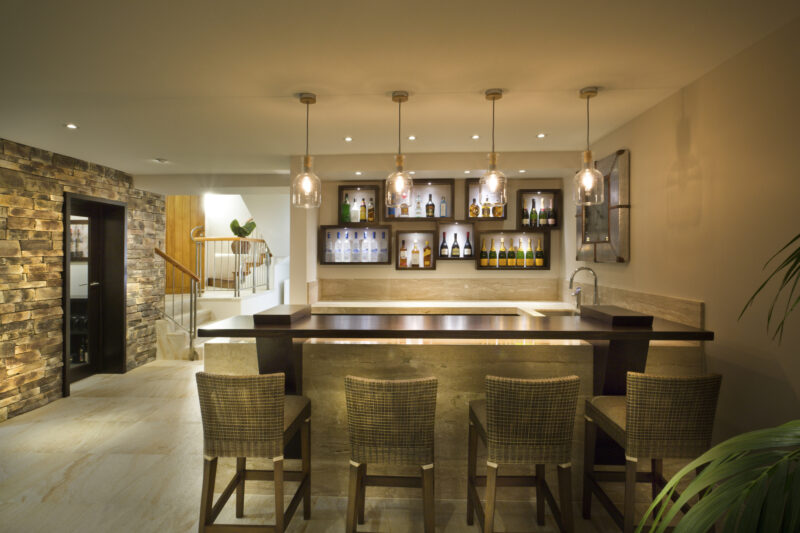 This Is How to Build a Home Bar on a Budget 1