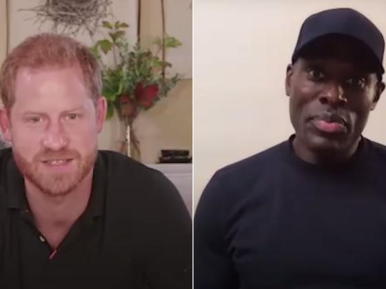 Watch Prince Harry, Patrick Hutchinson Speak on Antiracism