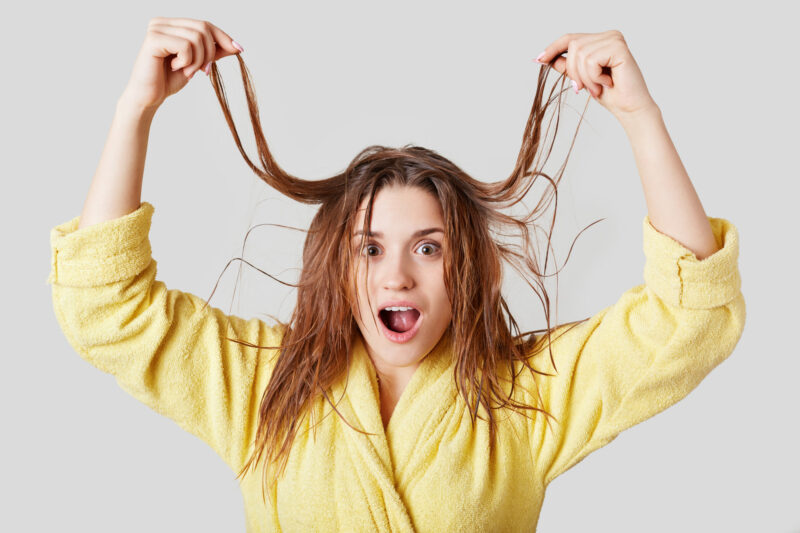 The Pros and Cons of Drying Hair Naturally 1